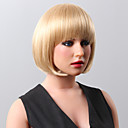 Capless Super  Short Body Wave Highlights Human Hair Wigs 9 Colors to Choose