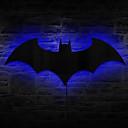 control remoto 1pc llevó espejo originalidad batman cambio de luz de color la noche