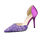Højhælede sko til damer