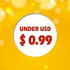 under USD $0.99