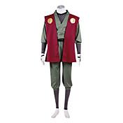 Inspirado por Naruto Jiraiya Animé Disfraces de cosplay Trajes Cosplay Kimono Retazos Manga LargaChalecos Pantalones Cinturón Calentador