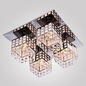 Montage de Flujo ,  Moderno / Contemporáneo Galvanizado Característica for Cristal Metal Sala de estar Dormitorio Hall
