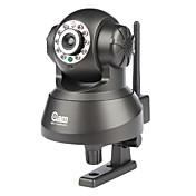 Coolcam - 300k píxeles cacerola sin hilos de la cámara del IP de inclinación de detección de movimiento, alertas de correo electrónico, p2p