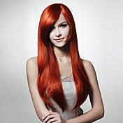 sin tapa de la moda de color sedoso pelo de colores peluca múltiples disponibles