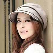 dámské módní vlny klobouk (obvod :56-58cm)