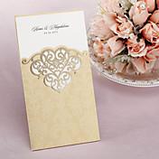 """Zamotajte & Pocket Vjenčanje Pozivnice Pozivnice-50 Piece / Set Classic Style Art Paper 8 ½ """"x 4 ½"""" (21,5 * 11.5cm)"""