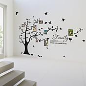 Botánico Pegatinas de pared Calcomanías de Aviones para Pared Calcomanías Decorativas de Pared Calcomanías de Fotos,Vinilo Material