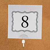 カード用紙 テーブルカード 10 ポリバッグ