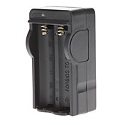 ブラック18650バッテリー用充電器