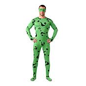 Disfraces Zentai de Texturas Morphsuit Ninja Zentai Disfraces de Cosplay Estampado Retazos Leotardo/Pijama Mono Zentai Licra Unisex