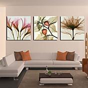 Reprodukce na plátně Floral Petal a Leaf Set 3