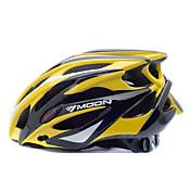 MOON 女性用 男性用 バイク ヘルメット 25 通気孔 サイクリング マウンテンサイクリング ロードバイク サイクリング L:58-61CM M:55-58CM PC EPS