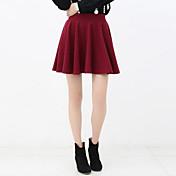 Moda Mujer Base falda plisada