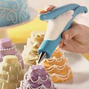Bolo de bolo fundido sobremesa de decoração de bolinhas de creme de gelo