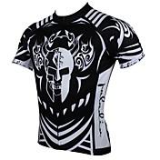 ILPALADINO Maillot de Ciclismo Hombre Manga Corta Bicicleta Camiseta/Maillot Tops Secado rápido Resistente a los UV Transpirable 100%