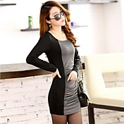TaiChang™女性のエレガントなロングスリーブのドレス
