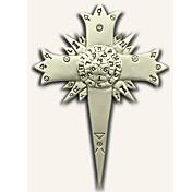 Smykker / Emblem Inspireret af D.Grå-mand Allen Walker Anime Cosplay Tilbehør Emblem Sølv Legering Mand