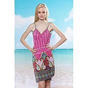 グラマーガール欧州と米国スリングセクシーな品質ビーチスカート