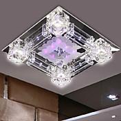 埋込式 ,  現代風 電気メッキ 特徴 for クリスタル LED ガラス ベッドルーム ダイニングルーム 廊下
