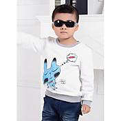 Camiseta Boy-Verano / Primavera / Otoño-Algodón
