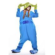 着ぐるみ パジャマ Monster レオタード レオタード/着ぐるみ イベント/ホリデー 動物パジャマ ハロウィーン ブルー パッチワーク フリース きぐるみ ために 男女兼用 ハロウィーン