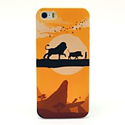 Para Funda iPhone 5 Diseños Funda Cubierta Trasera Funda Dibujos Dura Policarbonato iPhone 7 Plus / iPhone 7 / iPhone SE/5s/5