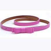 Mujer Cinturón Slim / Cinturón de Cintura Vintage / Bonito / Fiesta / Trabajo / Casual Todas las Temporadas