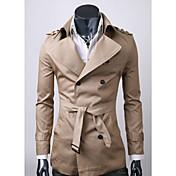 estilo de otoño menmax sleevecoats largos ocasionales&chaquetas Y001