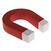 en forma de U de color rojo Cerradura titulares de los juguetes de la novedad