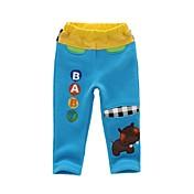 Pantalones Boy-Invierno / Primavera / Otoño-Algodón / Mezcla de Algodón