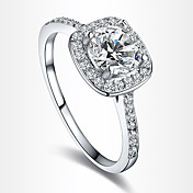 ステートメントリング 婚約指輪 幸福 欧風 結婚式 ジルコン キュービックジルコニア 銀メッキ ゴールドメッキ イミテーションダイヤモンド ジュエリー シルバー ジュエリー のために 結婚式 パーティー 誕生日 日常 1個