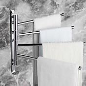 """タオルバー クロム ウォールマウント 328 x 300mm (12.9 x 11.8"""") 真鍮 モダン"""