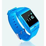 reloj de pulsera GPS con monitor de ritmo cardíaco y la función podómetro