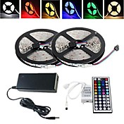 10M 150X5050 SMD RGB LED Strip Light and 44Key Remote Controller and 6A AU Power Supply (AC110-240V)