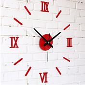 """Módní a moderní Ostatní Nástěnné hodiny,Kulatý Akryl 10 x 10 x 8(3.9"""" x 3.9"""" x 3"""") Vevnitř Hodiny"""