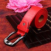 cinturón rojo pu