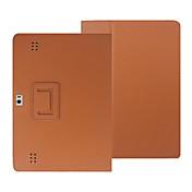 10. '' patrón de litchi caso de cuerpo completo con cuero de la PU para MediaPad Huawei 2 tableta cubierta de la PC