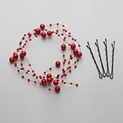 成人用 人造真珠 かぶと-結婚式 パーティー コサージュ