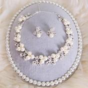 Conjunto de joyas De mujeres Boda / Cumpleaños / Regalo / Fiesta / Ocasión especial Sets de Joya Aleación PerlaCollares / Pendientes /
