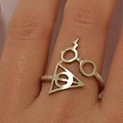 unisex harry anillo símbolo puerto