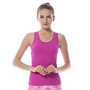 Yoga Tops / Chalecos / Tank Tops Elástica en 4 Modos / Suavidad Eslático Ropa deportiva Mujer-Yokaland,Yoga / Pilates / Fitness