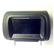 7 pulgadas TFT LCD de pantalla digital de monitor de reposacabezas del vehículo