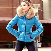 kakani女性のヨーロッパのファッション長袖の綿のコート