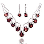 Conjunto de joyas De mujeres Aniversario / Boda / Pedida / Cumpleaños / Regalo / Ocasión especial Sets de Joya AleaciónPerla / Diamantes