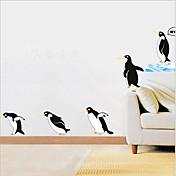 環境取り外し可能なペンギンのPVCタグ&ステッカー