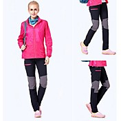 Mujer Pantalones para senderismo Secado rápido Listo para vestir Antiestático Transpirable Antibacteriano Pantalones/Sobrepantalón