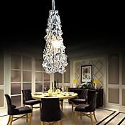 MAX 10w Moderno / Contemporáneo Mini Estilo Metal Lámparas Araña Sala de estar / Dormitorio / Comedor