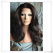 8インチ·22インチは、100%のインドレミー人間の髪の毛本体波のレースのかつらlwbw004
