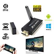 más reciente a9 M806 tv stick Miracast DLNA vsmart Miracast Chromecast iPush tv palo para teléfono inteligente Android
