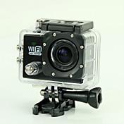 EST(東部基準時) SJ6000 Action Camera / Sports Camera 12MP 1920 x 1080 WIFI / 防水 / 笑顔検出 / 抗衝撃 4X 2 CMOS 32 GB H.264 50 M ダイビング / バイク / スキー